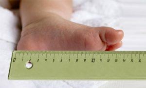 non esiste una regola su quanto cresce il piede