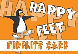 happy feet card